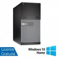 Calculator DELL Optiplex 3020 Tower, Intel Core i5-4570 3.20GHz, 4GB DDR3, 500GB SATA, DVD-ROM + Windows 10 Home