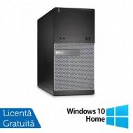 Calculator DELL OptiPlex 3020 Tower, Intel Pentium G3220 3.00GHz, 4GB DDR3, 250GB SATA, DVD-ROM + Windows 10 Home